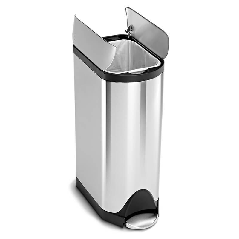 シンプルヒューマン(simplehuman)のバタフライ・ペダル式ゴミ箱