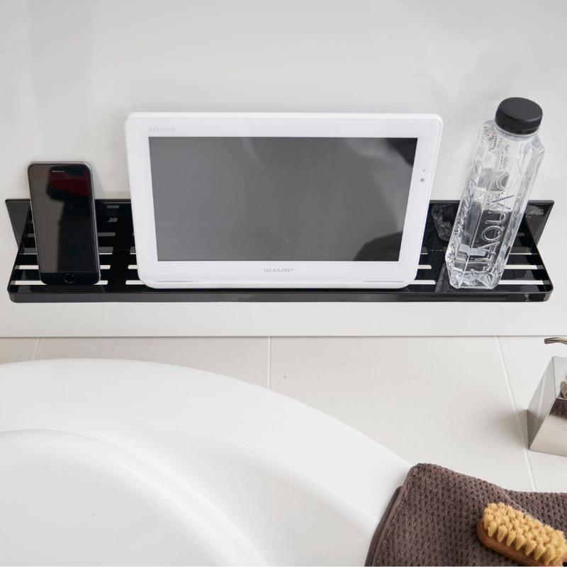 マグネットタイプのお風呂のタブレット置き棚