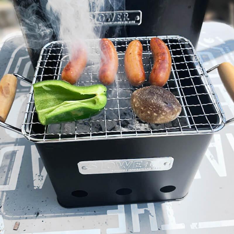 SLOWER BBQ STOVE Alta(Small) バーベキュー用ストーブ アウトドア