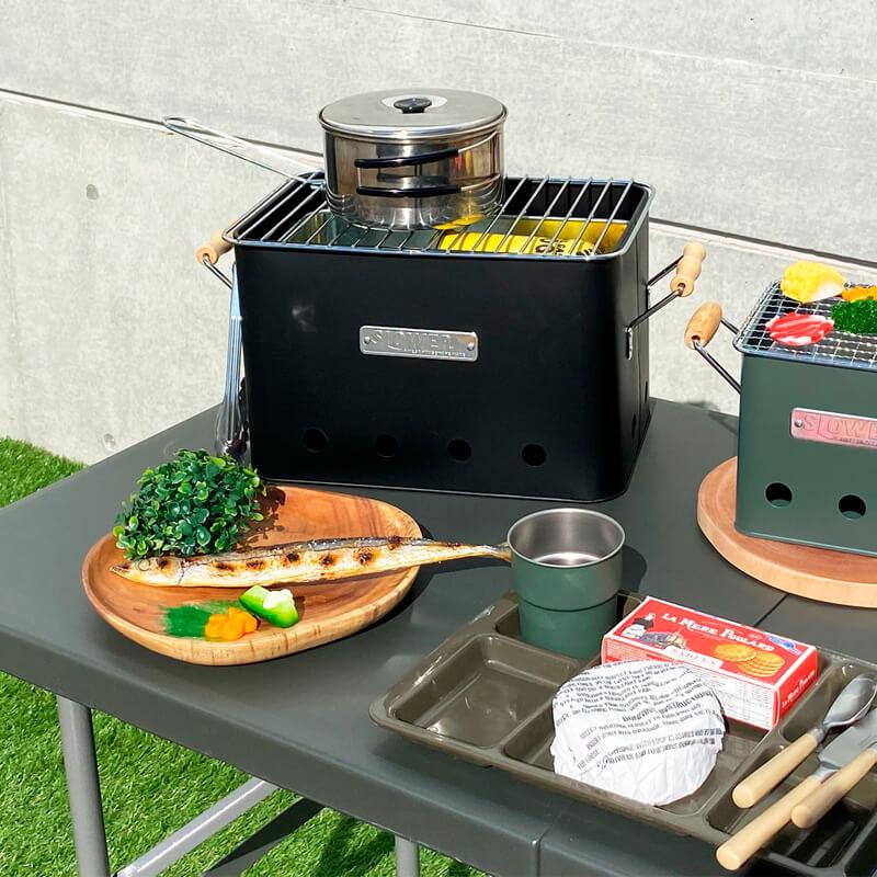SLOWER BBQ STOVE Alta(Large) バーベキューコンロ テーブルに置くことができる