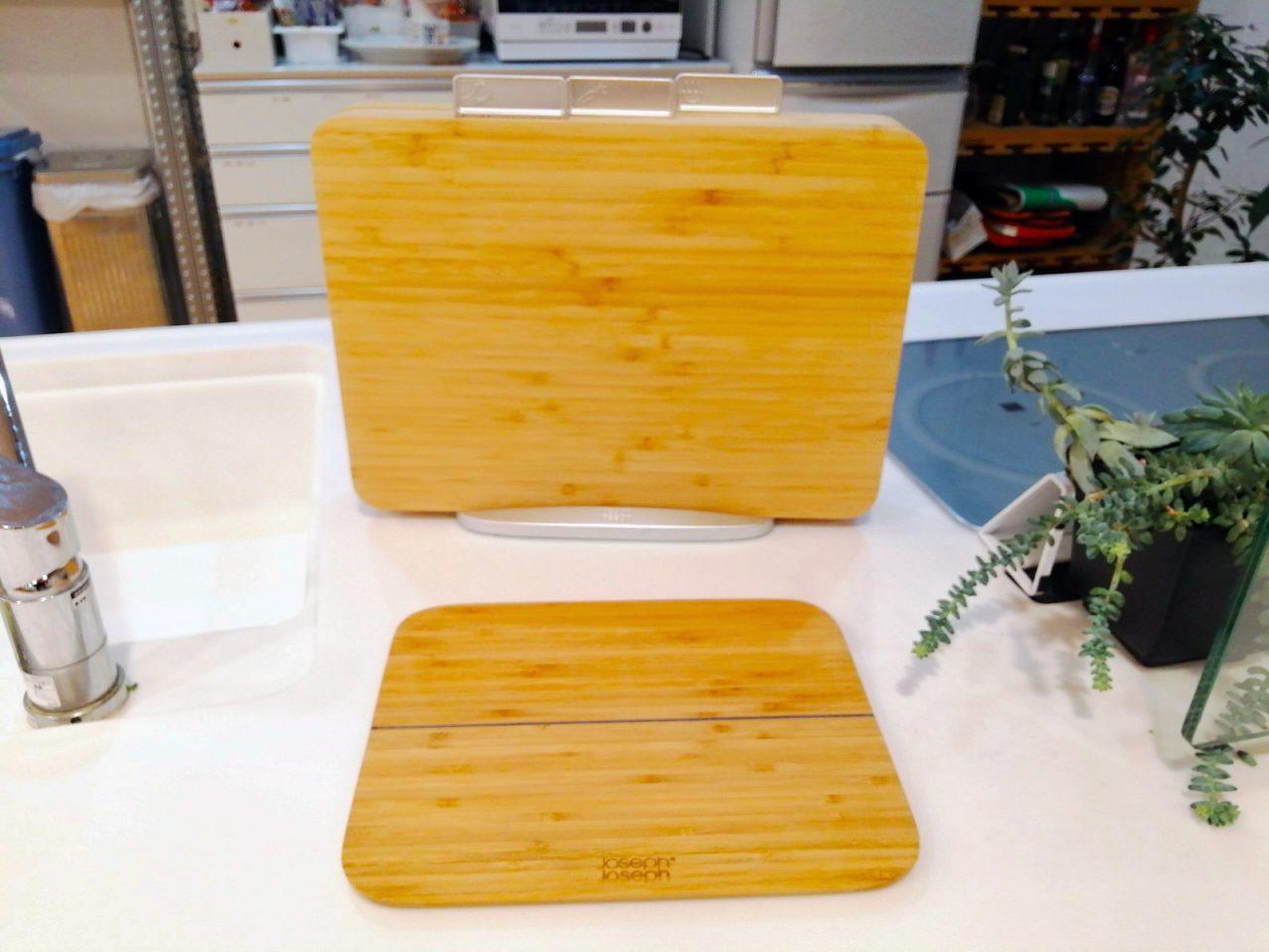 joseph joseph/ジョセフジョセフ 竹製のまな板