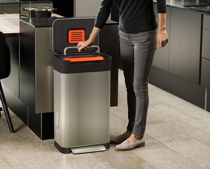 機能性ゴミ箱で暮らしが変わる!メディアで注目のジョセフジョセフゴミ箱