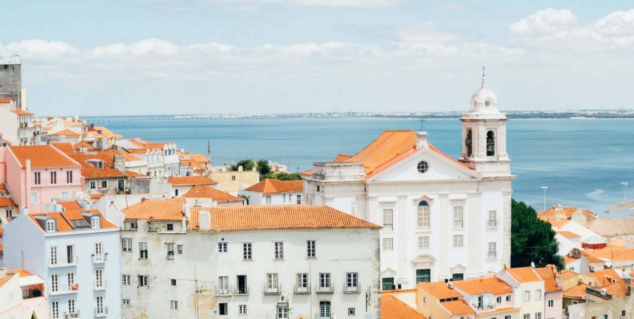 ポルトガルの海
