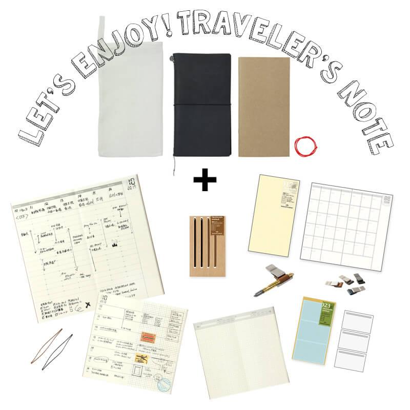 トラベラーズノート パスポートサイズリフィル 月間フリー