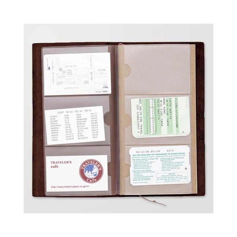 トラベラーズノート リフィル 名刺ファイル
