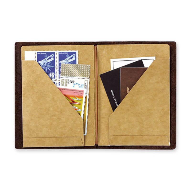 トラベラーズノート パスポートサイズリフィル クラフトファイル