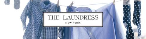 ランドレスブランドロゴと洗濯物